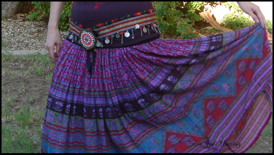 Gypsy Belly dancing belt by andromeda