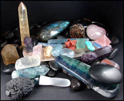 My Stone Collection - Part 2 by andromeda
