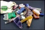 Medicine Bag with Gemstones