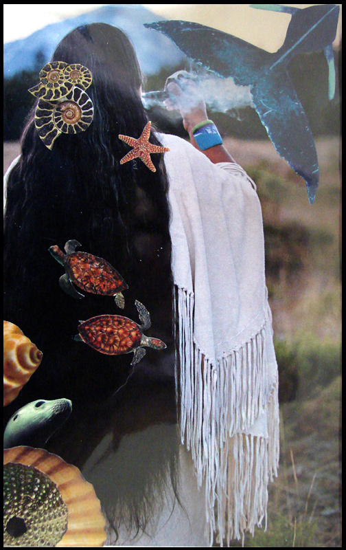 Collage - Grandmother Earth by andromeda