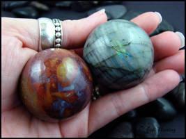 Gemstone Spheres by andromeda