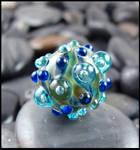 Cosmic Urchin - Glass Lampwork Bead