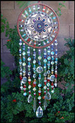 Clay and Crystal Dream Catcher