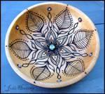 Waiola - Wooden Offering Meditation Bowl