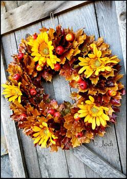 Our Autumn Wreath 2019