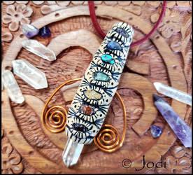 Chakra Chi Wand Pendant