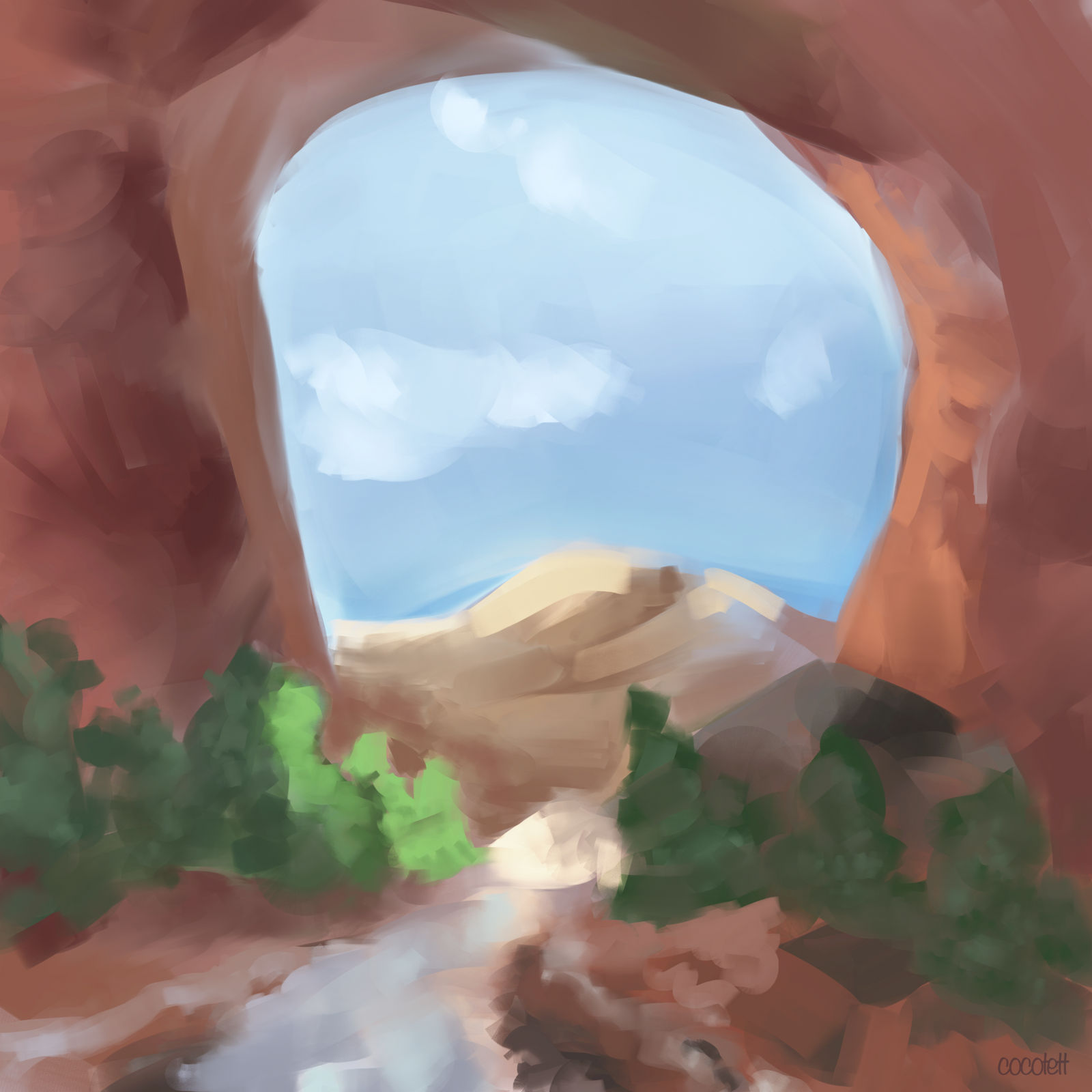 Landscape Sketch #2