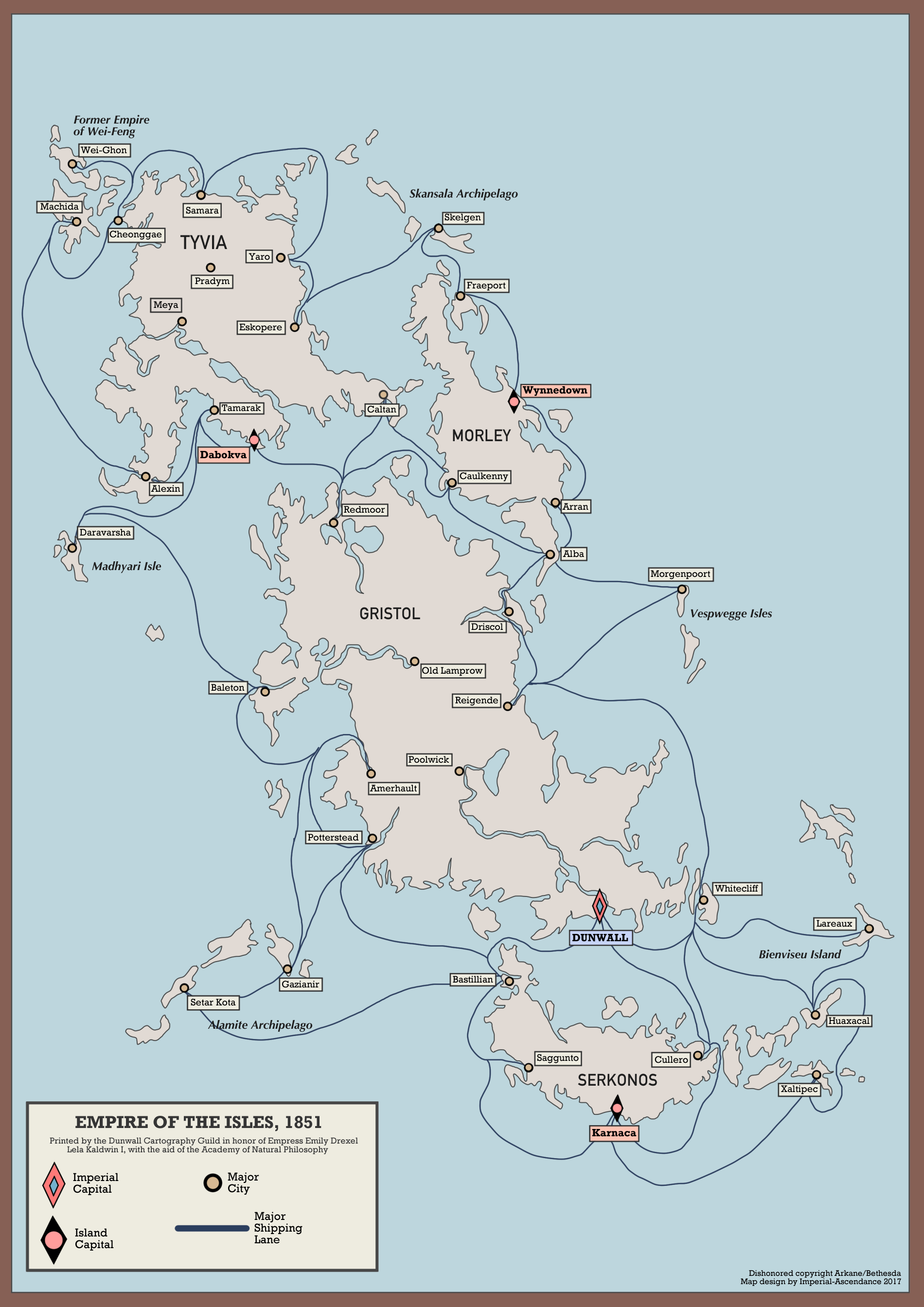 Empire Of The Isles 1851 Oc Based Off The Original Map But With