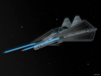 Kel-Wing Starfighter by Imperial-Ascendance