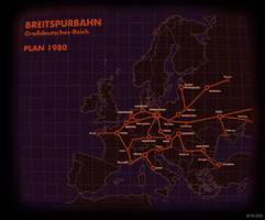Breitspurbahn 1980