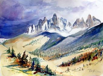 Geislergruppe South Tyrol by wystemd