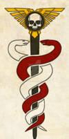 Warhammer 40k Officio Medicae Symbol (Ornate)
