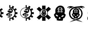 Warhammer 40k Miscellaneous Medical Symbols