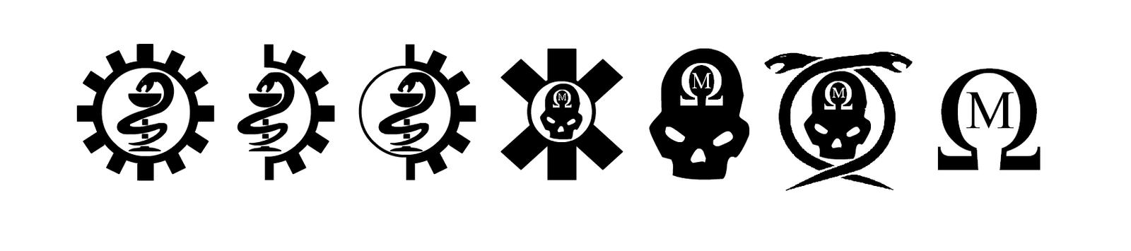 Warhammer 40k Miscellaneous Medical Symbols by Light-Tricks
