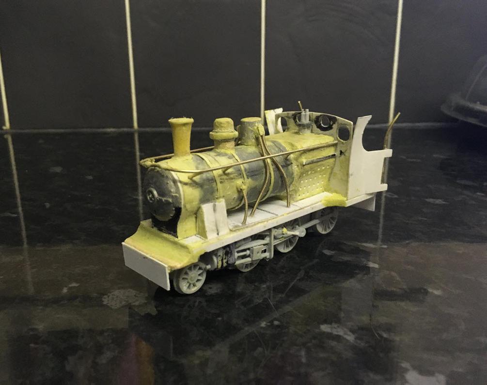 Scratchbuilt Hejaz Railway Hartmann 2-6-0 (1/58) by Light-Tricks