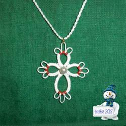 Christmas Cross by tattfae