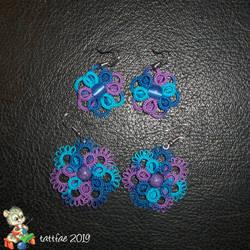 More tatted earrings by tattfae