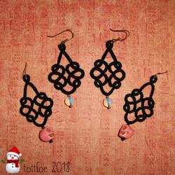 Even more earrings by tattfae