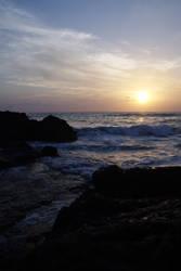 Rocky Sunset by joeross
