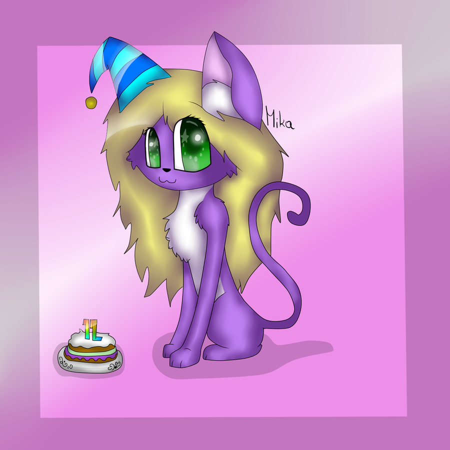 Drawing for my Birthday by MikaMilaCat