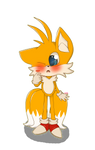 Commission: Tails ''She kiss me?!''