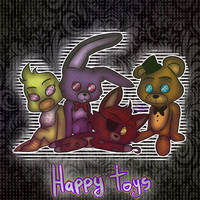 Happy Toys by MikaMilaCat
