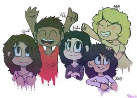 Best friends! by MikaMilaCat