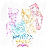 Mystery Skulls Animated by MikaMilaCat