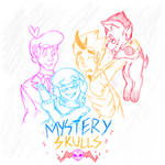 Mystery Skulls Animated