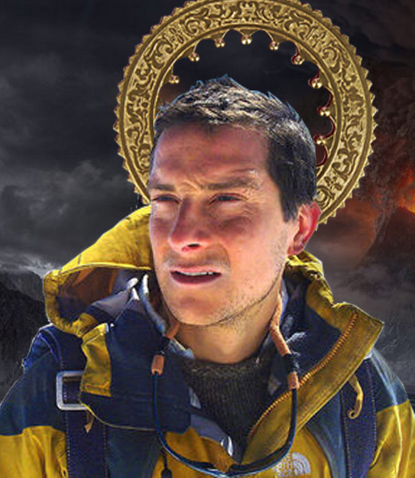 Saint Bear Grylls by b4rTuK1nG