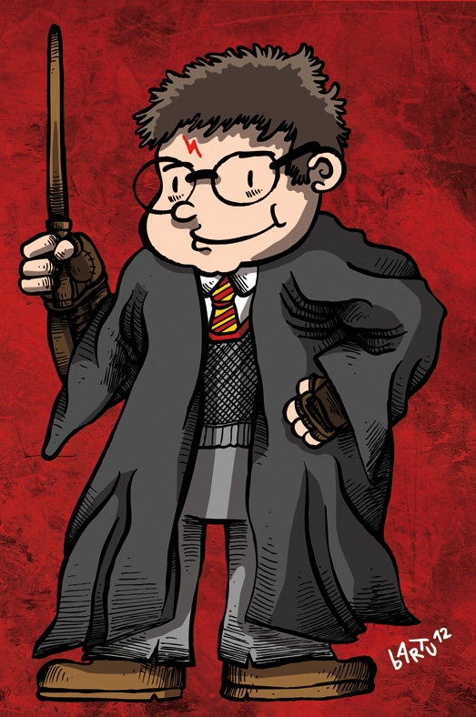 Harry Potter by b4rTuK1nG