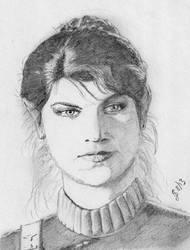 Lieutenant Saavik by MercuryRapids