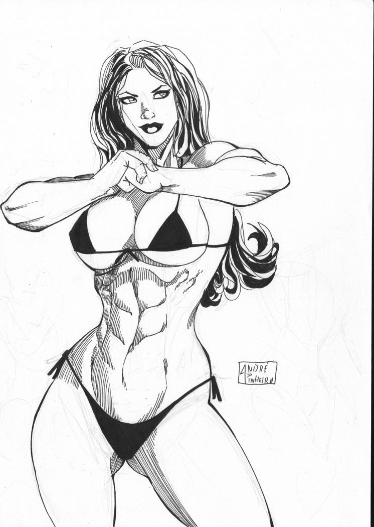 she hulk 2 by undergrace777