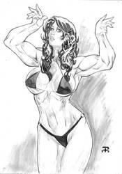 She-hulk by undergrace777