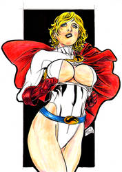 Powergirl by undergrace777