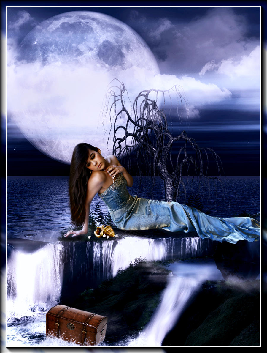 the beautiful mermaid by coyotepam on deviantart
