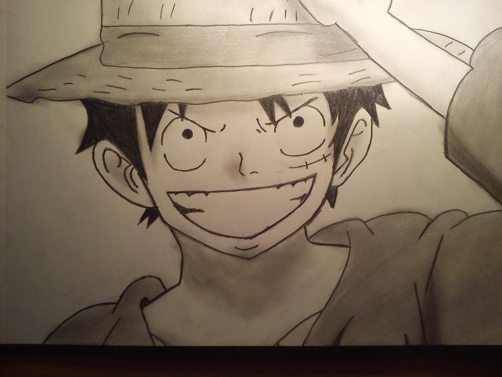 Luffy by CallumOfTheSand