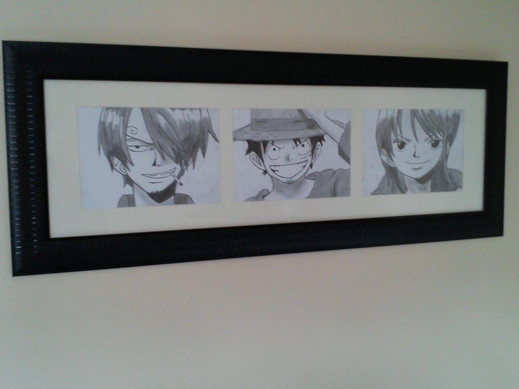 My Framed Drawings by CallumOfTheSand