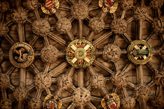 St Giles' Cathedral, The Thistle Chapel, Edinburgh