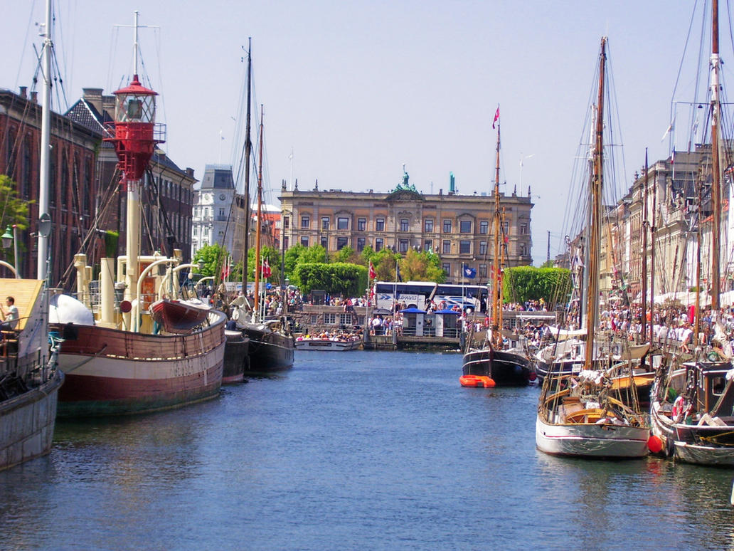 Nyhavn View by HistoricalMuse