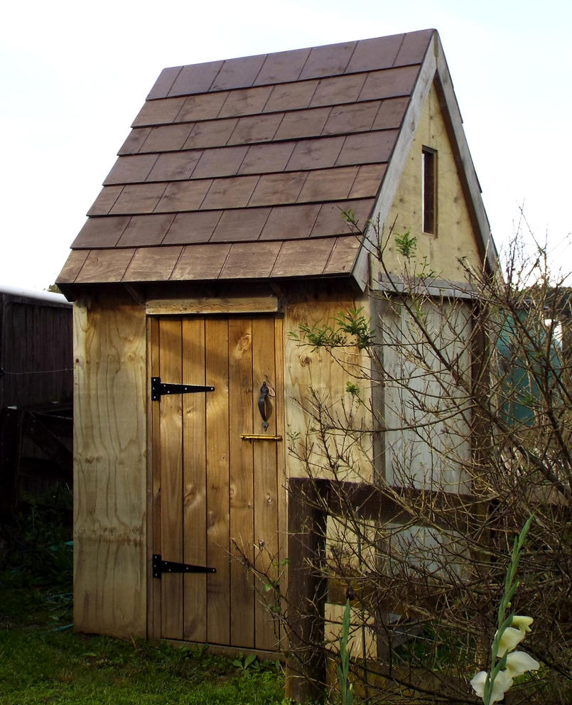Medieval Garden Shed by jgoo055