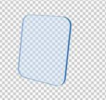 transparent board