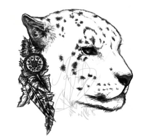Snow Leopard by Rychuuu