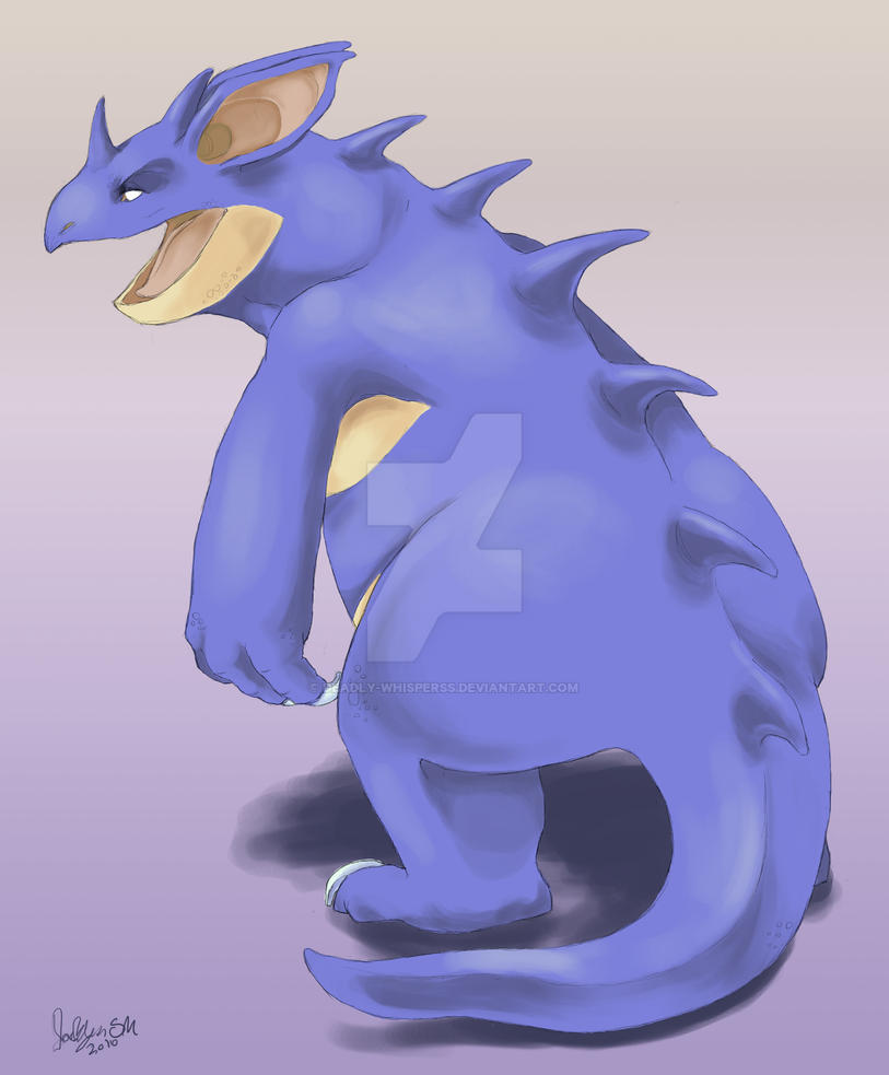 Nidoqueen by Deadly-Whisperss on DeviantArt