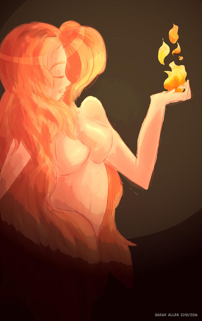 Dancing with Flames by ThatChickWithDaPony