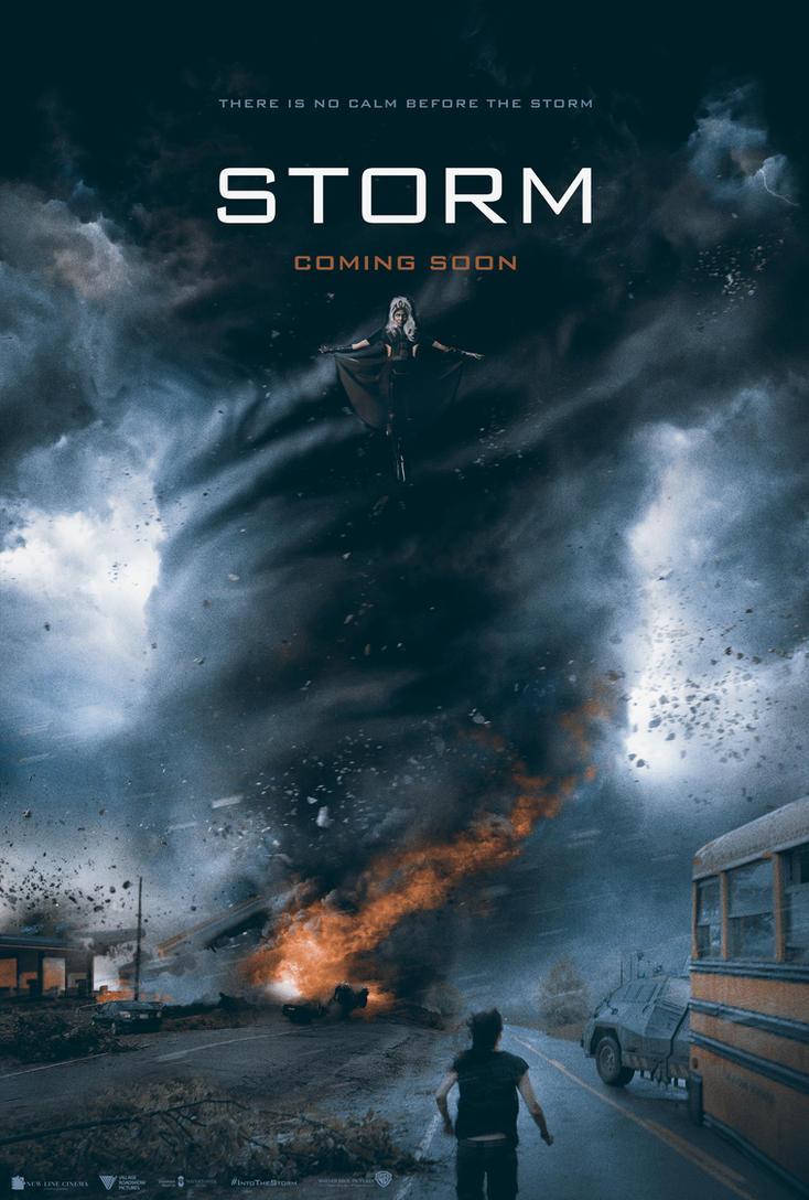 STORM movie poster by jaysanturri