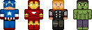 [Minecraft] MarvelPixel by BlueNathan