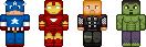 [Minecraft] MarvelPixel by BlueNathan