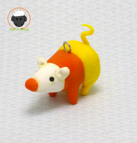 Candy Corn Rat by Hybrid-Sheep