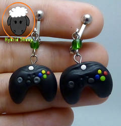 Xbox Controller Earrings